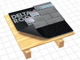 Delta roof